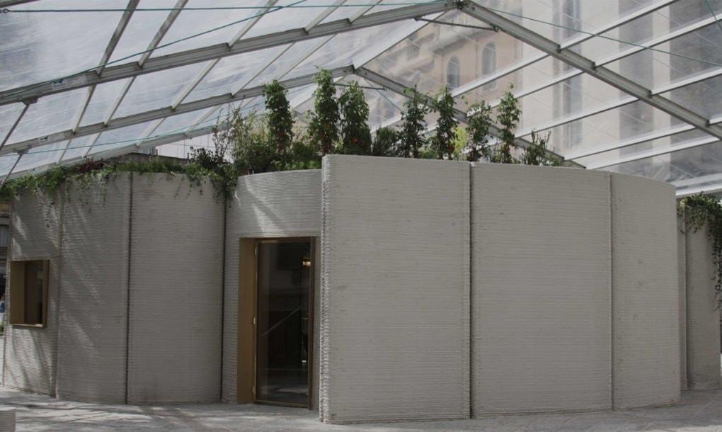 В Милане показали дом с дизайнерским интерьером, напечатанный на 3D-принтере за 48 часов