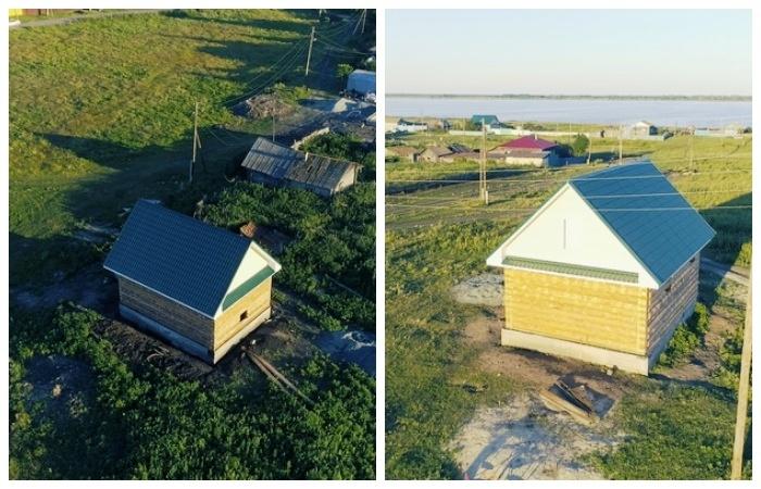 Усадьбы для желающих работать уже готовы принять молодые семьи (Султаново, Челябинская область).