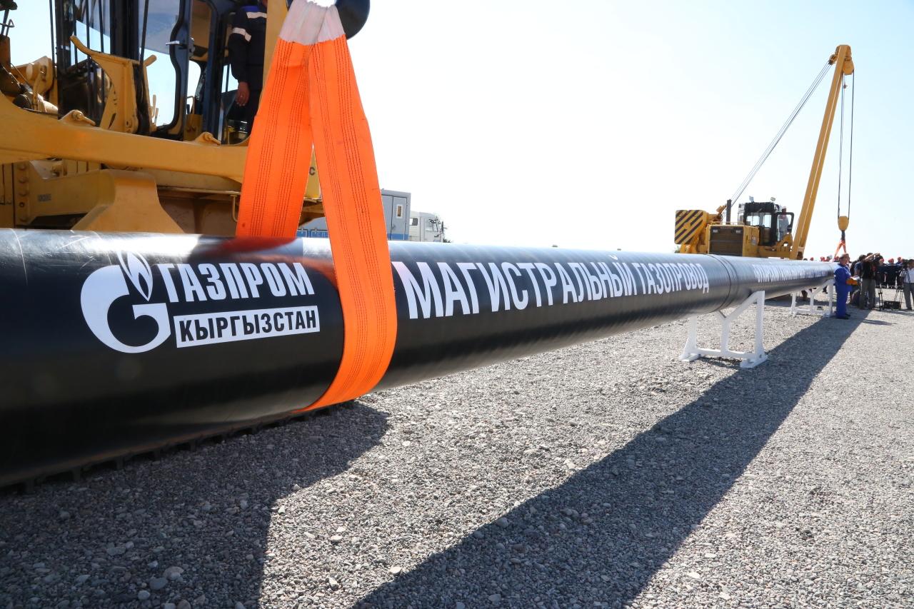 «Газпром» потратит на 100 млрд рублей на развитие газовой промышленности Киргизии