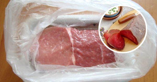 Залей мясо водочкой, а еще л…