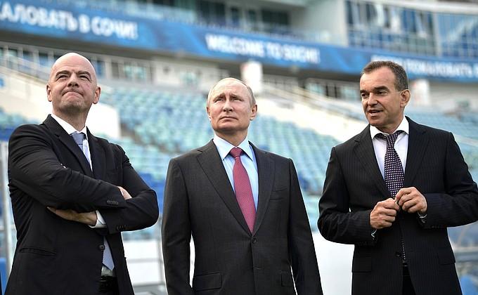 Заседание наблюдательного совета оргкомитета «Россия-2018»