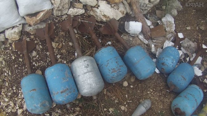 МИД Сирии: на складах боевик…