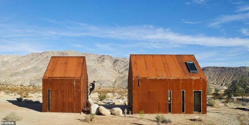 4. Хижина с открытой крышей в Калифорнии - 349 долларов за ночь Airbnb, аренда жилья, жилье, подборка, путешествия, разные страны, туризм, фото