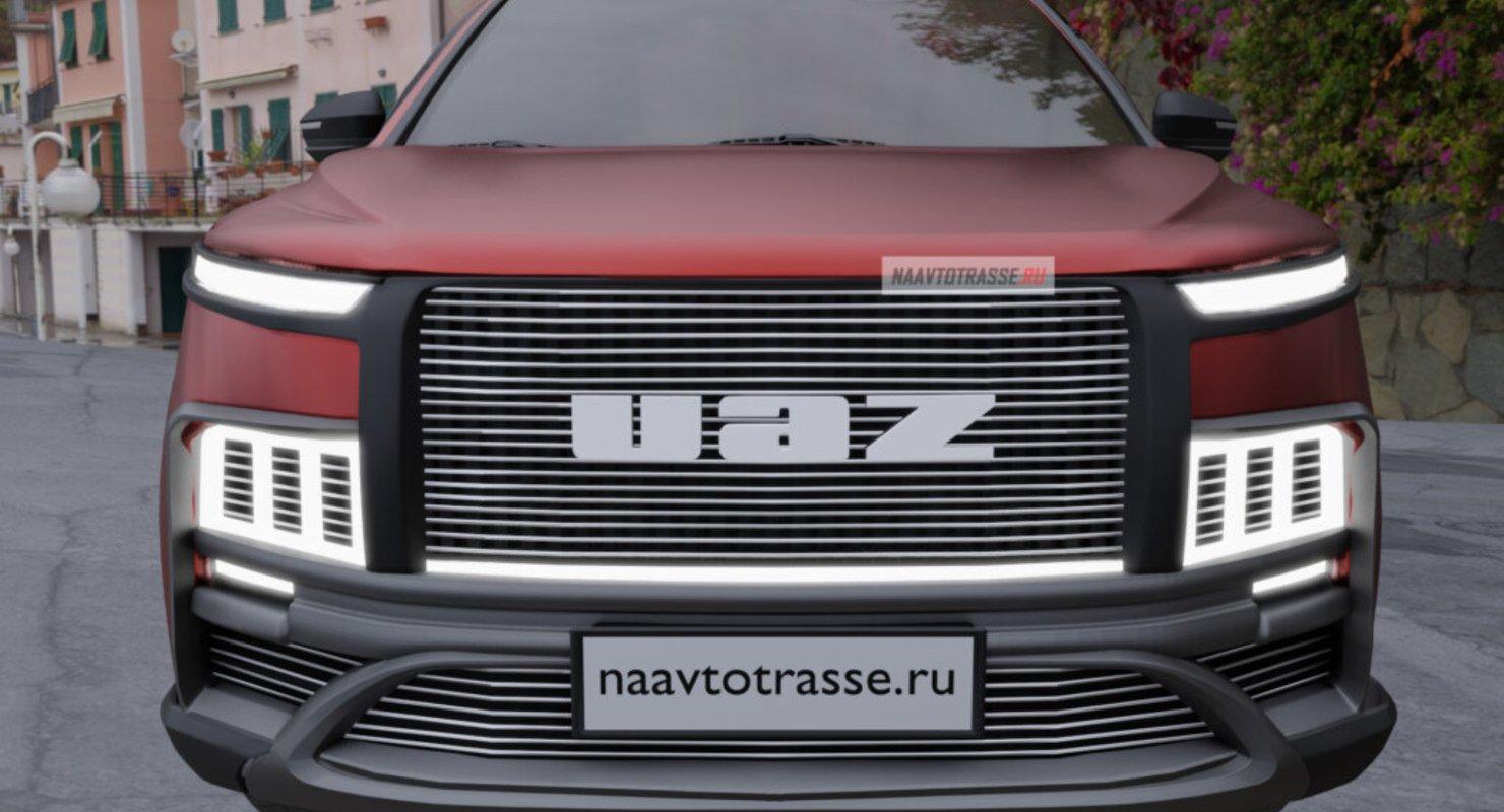 Совершенно новый УАЗ «Патриот» Пикап 2021 представили, не дожидаясь выхода внедорожника второй генерации Автомобили
