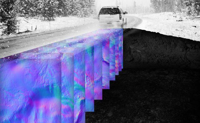 Новая технология позволяет машинам с автоуправлением «видеть» под поверхностью дорог