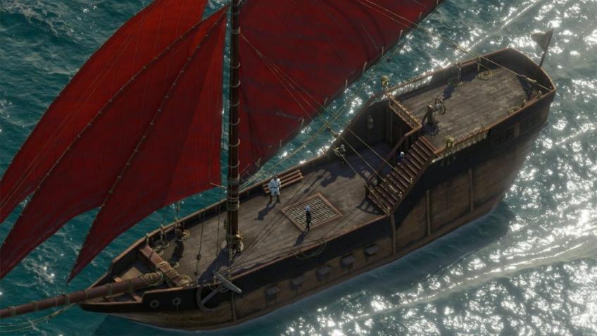 Авторы Pillars of Eternity 2: Deadfire показали морские сражения