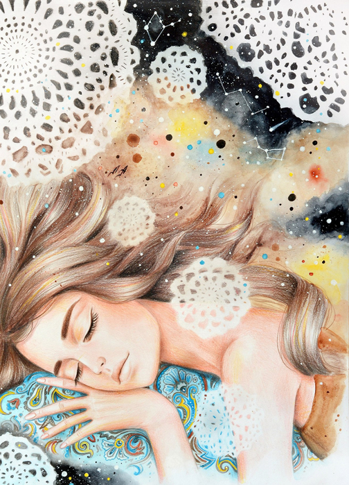 Красота - это тоже волшебство! Александра Лиукконен