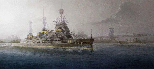 Эсминец «Элдридж». Изображение взято с сайта «http://tainy.net/»