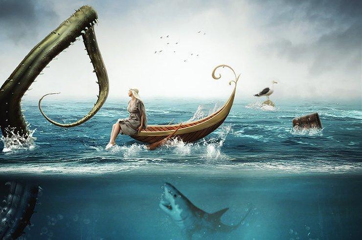 Из пучины: жуткие истории, рассказанные рыбаками и моряками в мире, жуть, история, люди, моряки, рыбалка