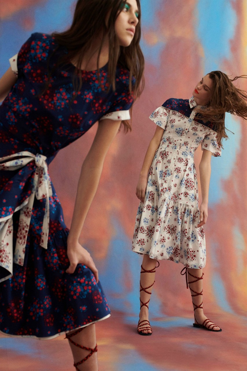 Carolina Herrera Pre-Fall осень-зима 2019-2020 - фейерия красок и образов. Это что-то невероятное! carolina herrera pre-fall