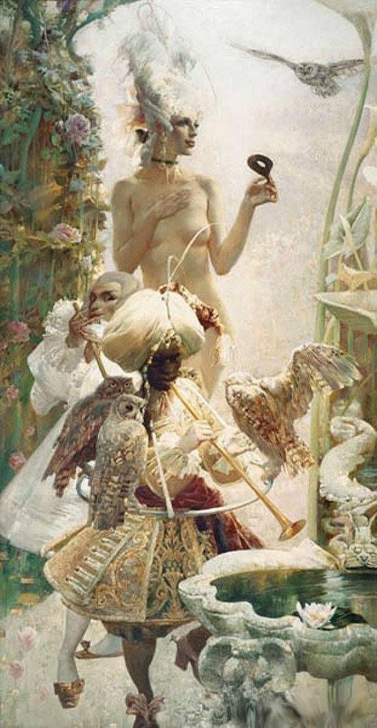 Художник Александр Воронков. Мир грёз и древних мифов