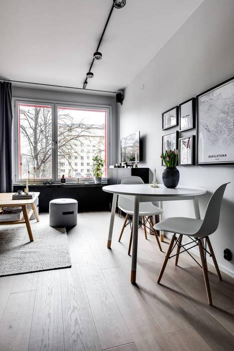 Приятный дизайн маленькой квартиры.