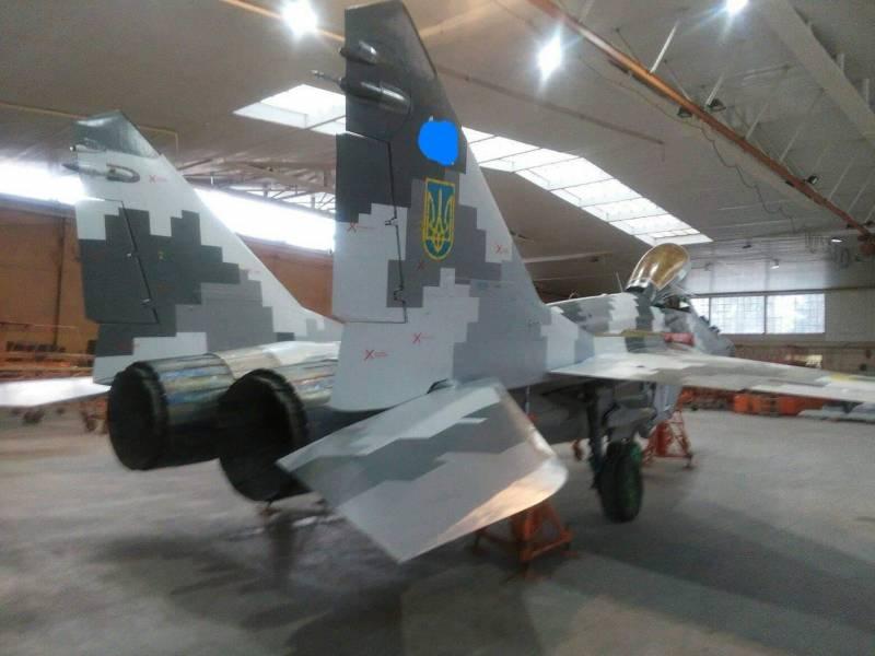 Украина показала модернизированный МиГ-29МУ2