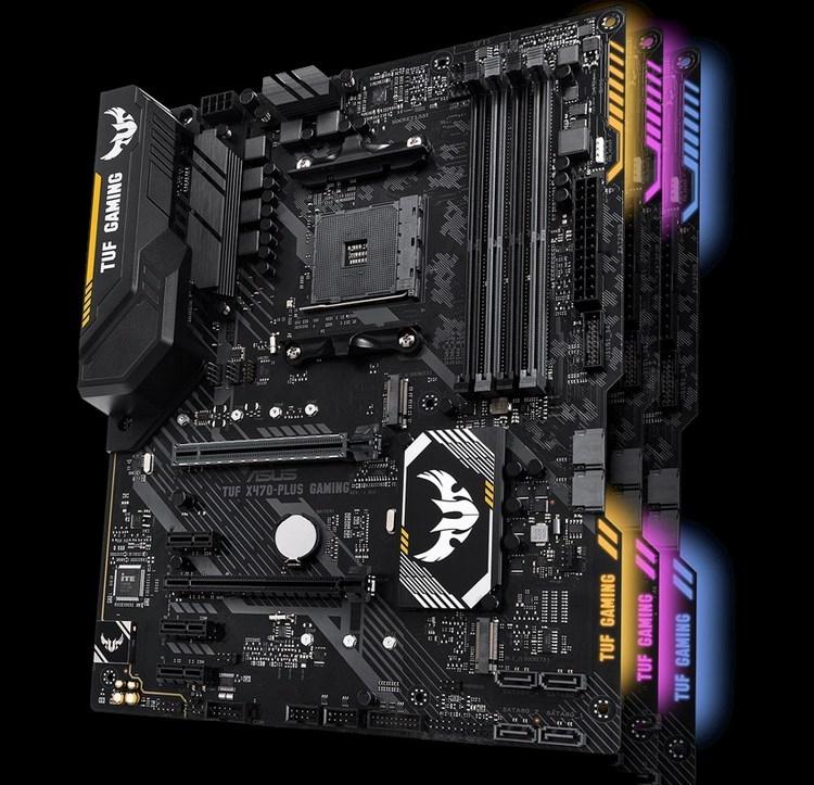 ASUS работает над дюжиной материнских плат на базе AMD X570 новости
