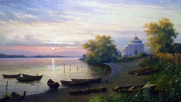 Художник Николай Булыгин