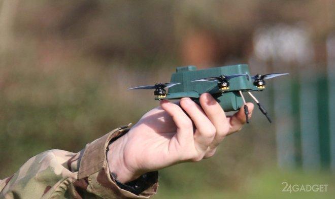 Компактный дрон Bug прошел испытание в частях армии Великобритании (4 фото)