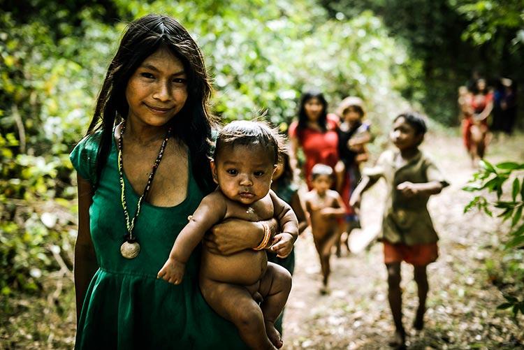 Сексуальные отношения в племенах амозонии