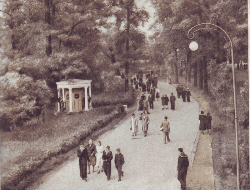 На аллее парка. 1955 год, СССР, история, ленинград, факты