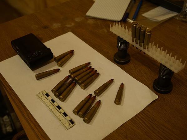 В Таганроге у местного жителя нашли тайник с боеприпасами