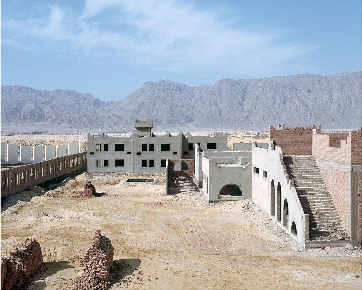 Затерянные и заброшенные отели в Египетской пустыне архитектура,достопримечательности,египет,история,отели,путешествия,туризм