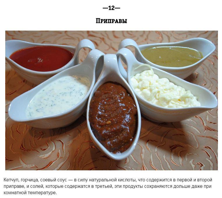 Продукты, которые нежелательно хранить в холодильнике еда, продукты, советы