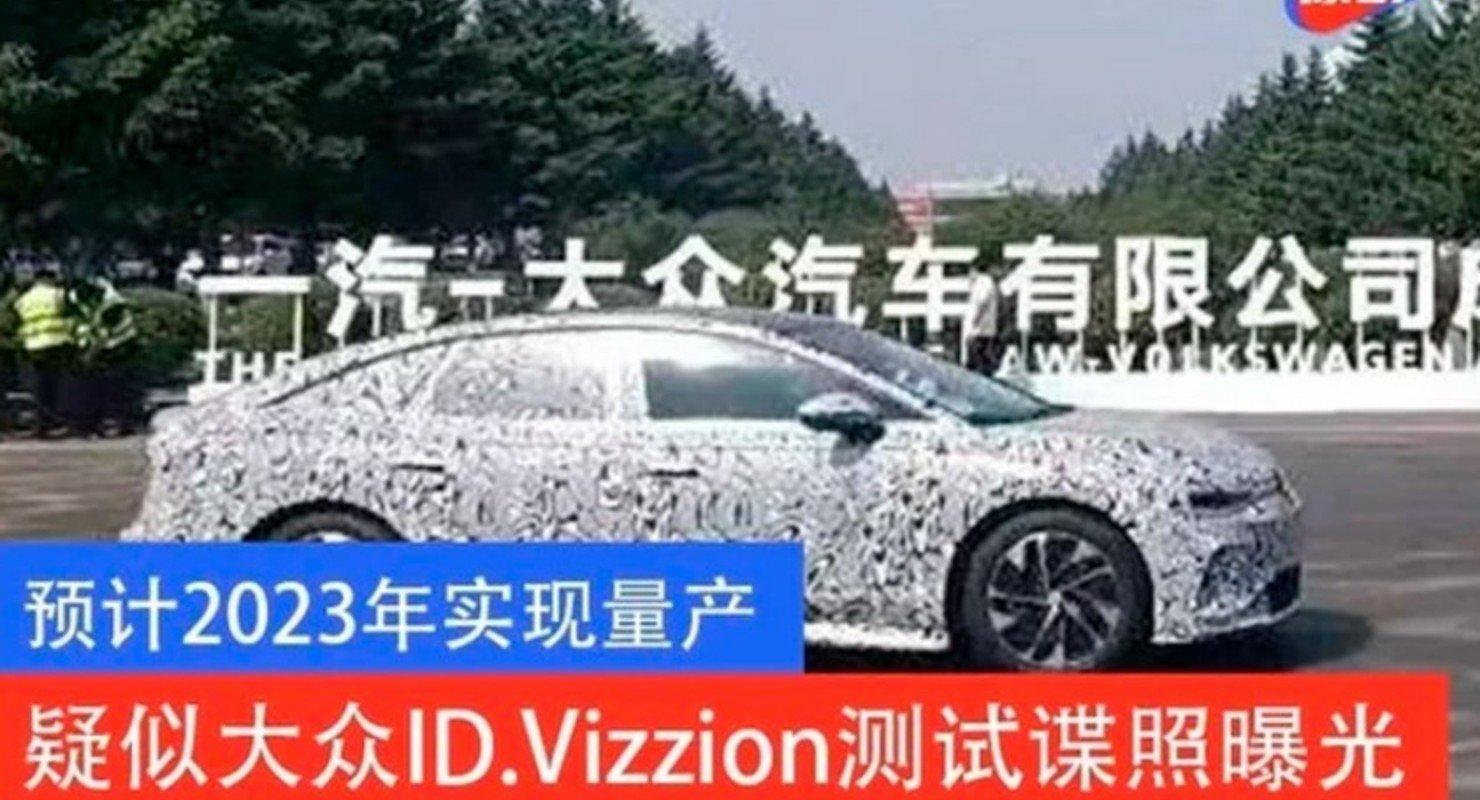 Опубликованы первые снимки седана Volkswagen ID.7 2023 года Автомобили
