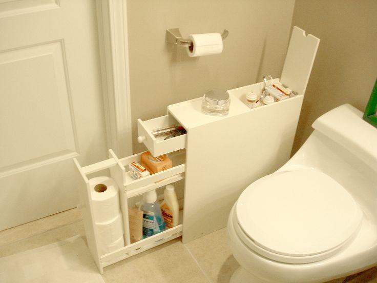 Идеи, которые можно использовать, когда места в ванной не хватает 2