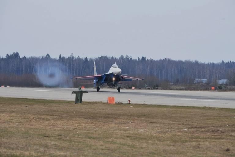 Истребители ВКС за неделю 9 раз поднимались на перехват самолетов-разведчиков