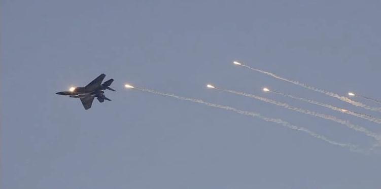 ПВО Сирии атаковали израильский разведывательный БПЛА