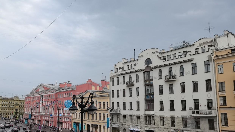 Жители некоторых районов Петербурга сообщили о начавшемся дожде Общество