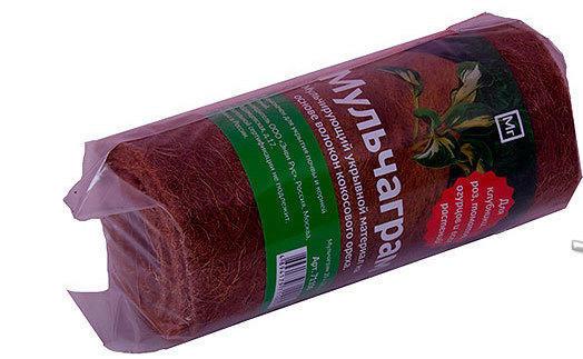 Мульчаграм - мульчирующий кокосовый материал Перчатки с когтями
