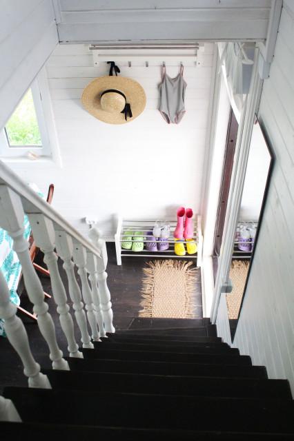 В гостях: Дачный домик 57 кв.м, полный жизни и цвета идеи для дома,интерьер и дизайн
