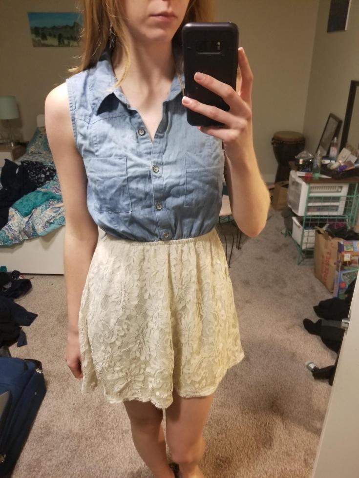 Неожиданная переделка платья