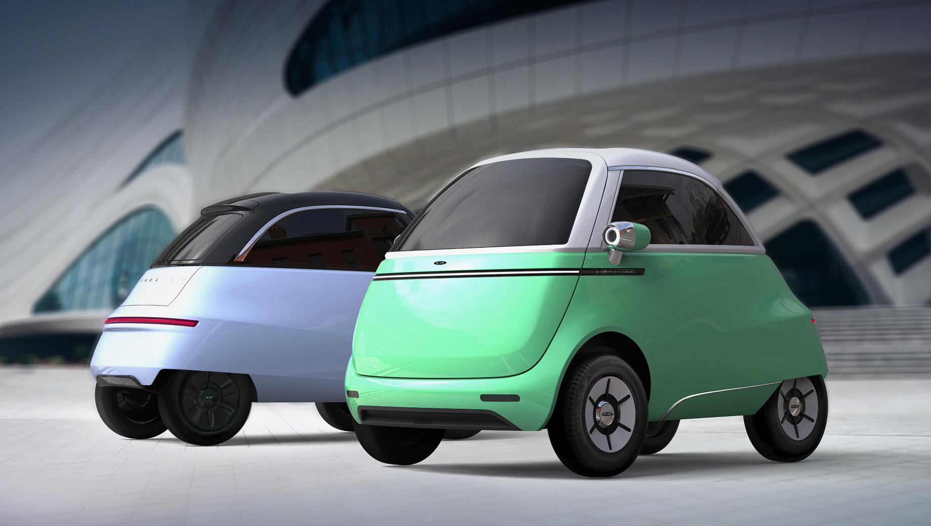 Сити-кар Microlino преобразится в версии 2.0 microlino,Марки и модели,Новые модели