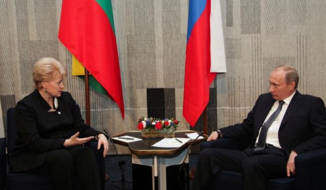 В Москве не оценили душевный порыв Грибаускайте: ни Литва, ни ее президент больше не интересны РФ