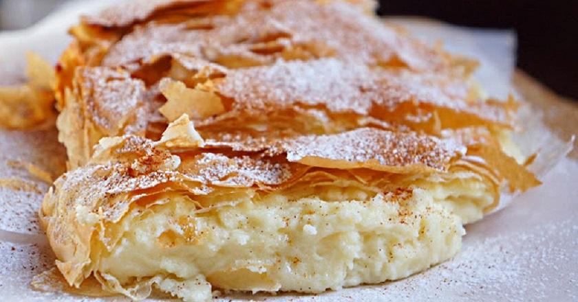 "Греческий пирог ""Бугаца"""