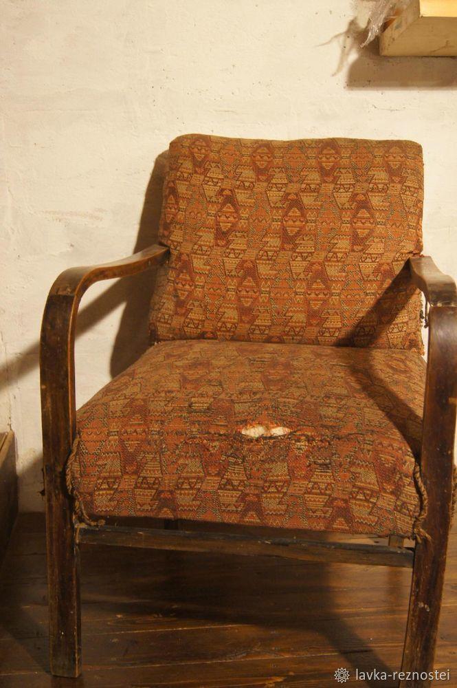 Винтаж, лофт и старое кресло, или возвращаем к жизни старую мебель