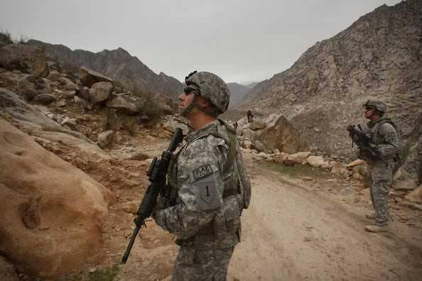 Психология боя американцев в Афганистане