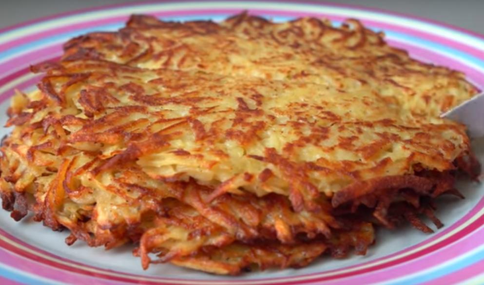 Картофельные блинчики - вкусное и бюджетное блюдо