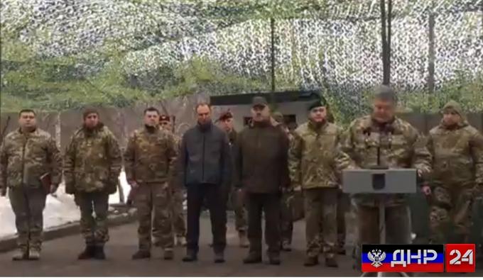 Важно: Петр Порошенко объявил об «операции объединенных сил» на Донбассе
