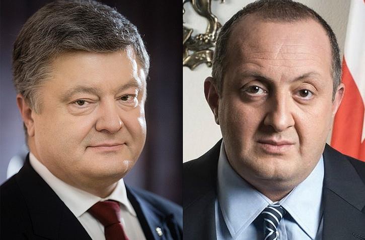 Порошенко позвонил президенту Грузии, чтобы совместно поскрежетать на Путина