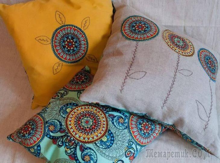 original Диванные подушки своими руками мастер класс: оригинальное декорирование