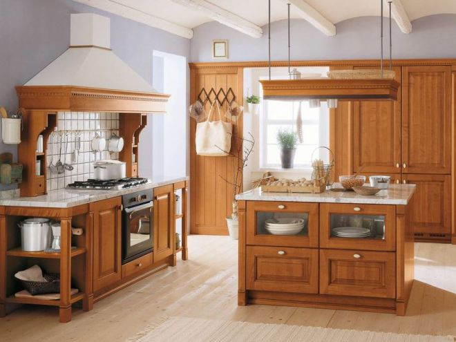 Как выбрать столешницу для кухни по цвету