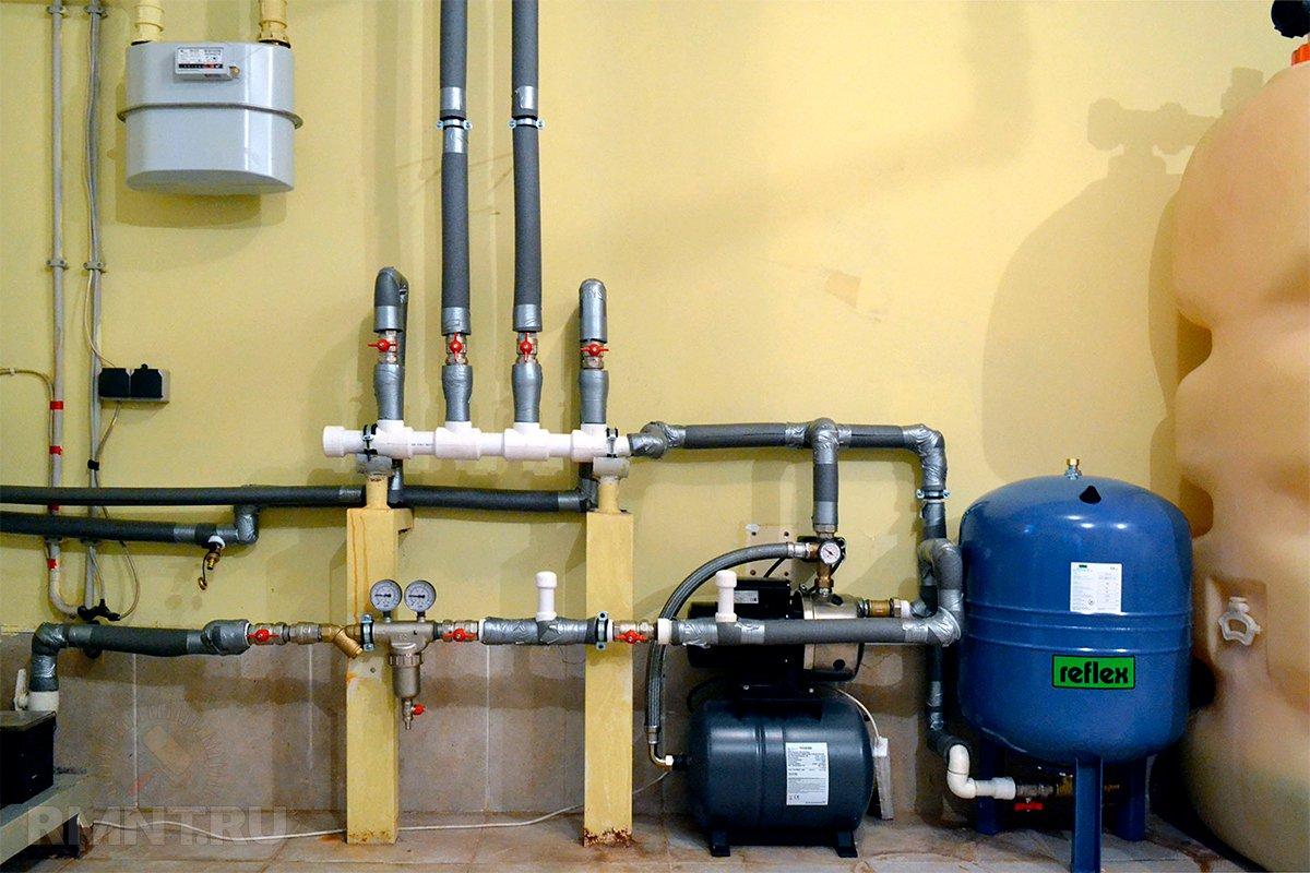главный картинки водоснабжения частного домашних сделать