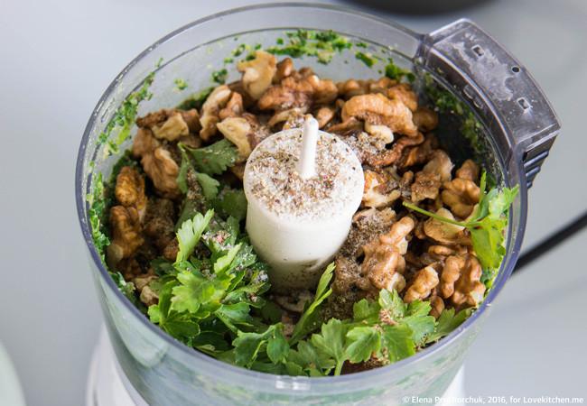 Пхали из шпината и фасоли закуски,кухни мира,овощные блюда
