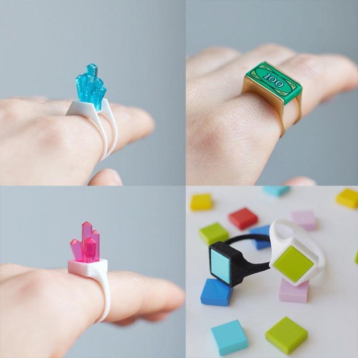 Hintlab - украшения конструктор на основе Lego