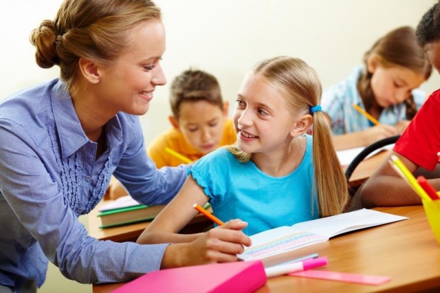 Учитель и ученица