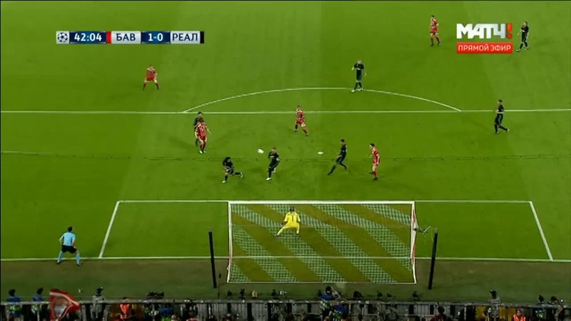 Бавария – Реал. Рамос спасает команду от гола