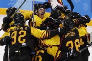 Сборная Германии по хоккею обыграла Швецию в четвертьфинале ОИ