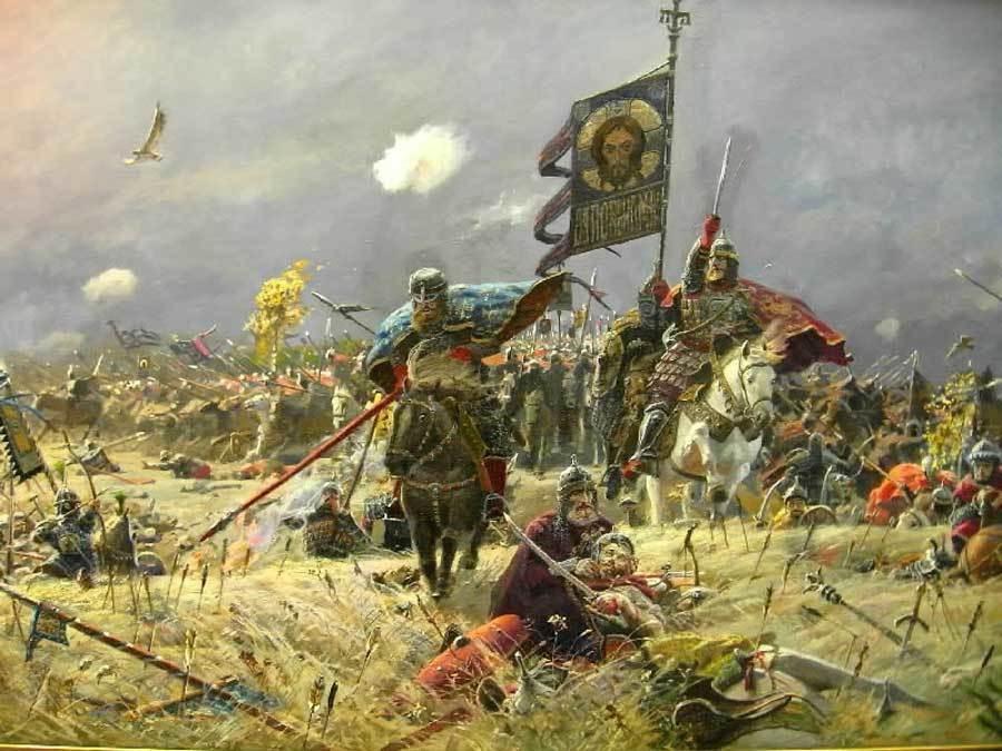Куликовская битва в картинках